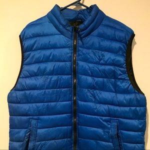 Aeropostale Blue Puffer Vest